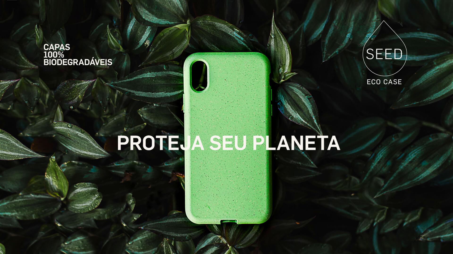 Ecoseed capas, evolua com o planeta.